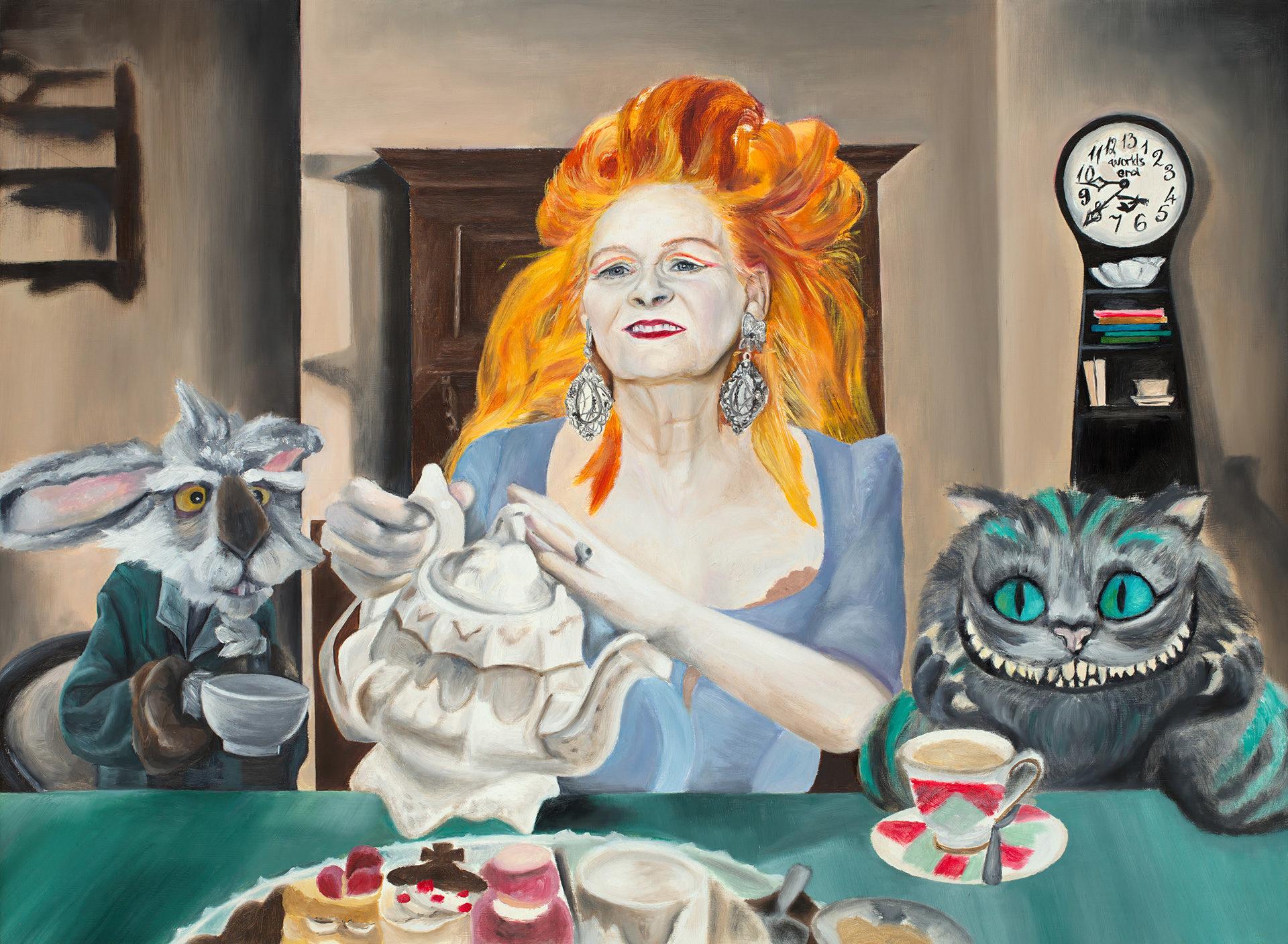 Portraits by Toronto Portrait Artist Maria Petroff Vivienne Westwood