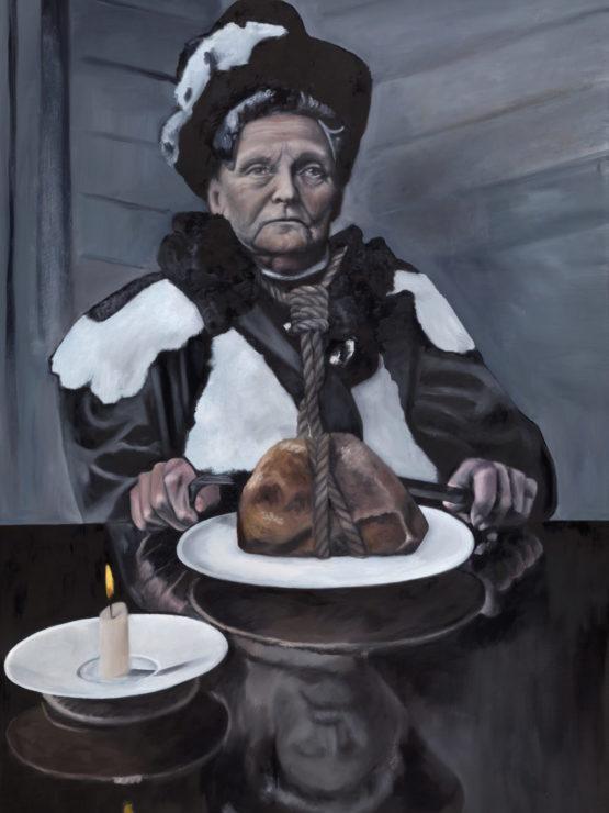Henrietta — original oil art by Maria Petroff