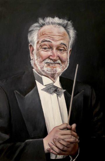 portrait of Jacques Attali